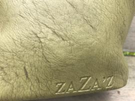 Mosgroene bag in bag tas ZaZa'z