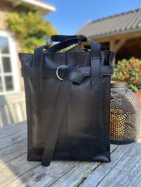Revival by Leather Design Black Italia(laptoptas)