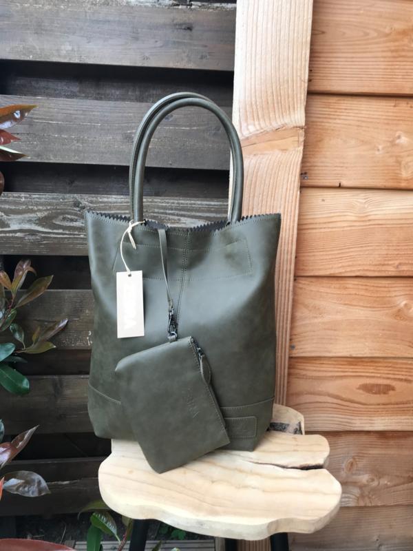 Natural Bag Kartel City Casual  Army Green