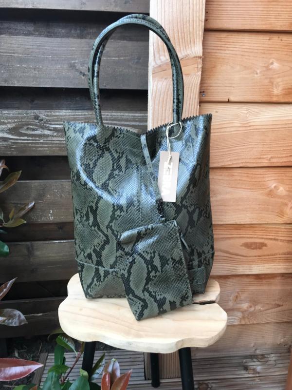 Natural Bag Kartel Peter Man Army Green