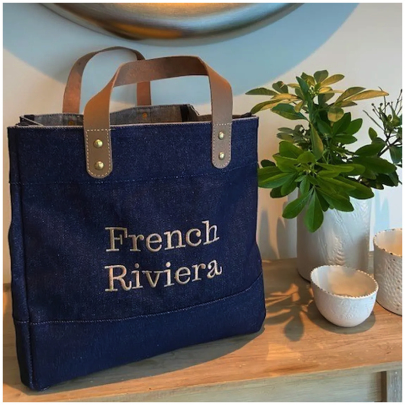Denim Bag French Rivièra