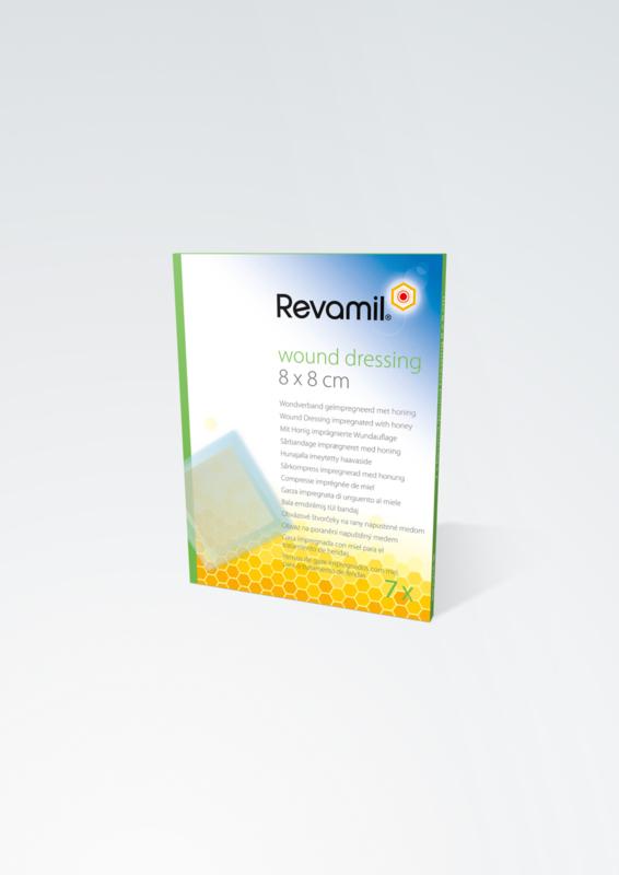 Revamil Wound Dressing 8X8CM 7 stuks