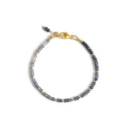 Lavende Iolite Armband