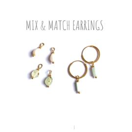 Mix & Match Vermeil Oorbellen