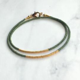 Minimal bracelet Green