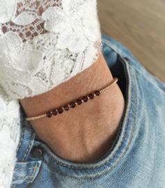Delicate Granaat Armband