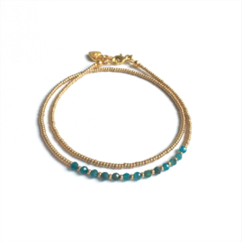 Armband Edelsteen Delicate Apatite
