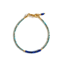 Royal Blue Lapis Lazuli Armband