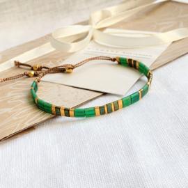Tila Emerald Armband