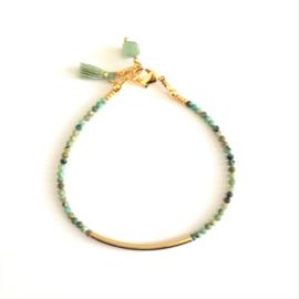 Edelsteen Armband Tibetan Turqoise