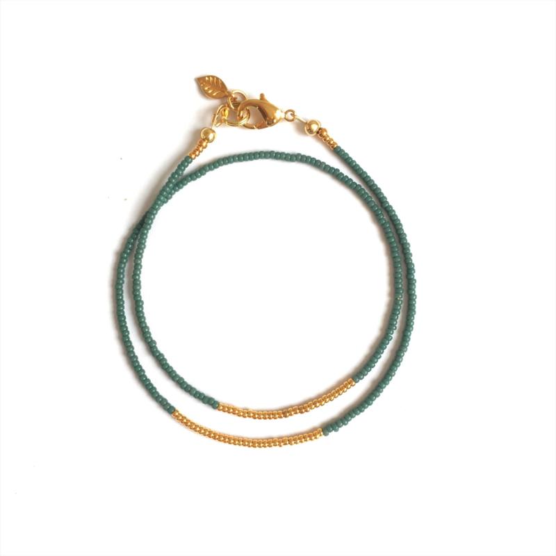 Minimal bracelet Mint