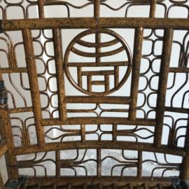 Vintage Chinoiserie Armchairs & table VERKOCHT