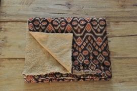 Tribal Kinderstrandhanddoek Bruin