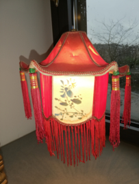 Chinoiserie messing lamp Dragon