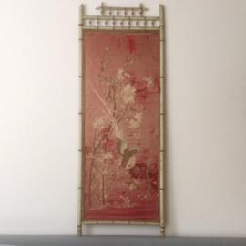 Vintage faux Bamboo paneel