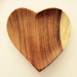 Houten bord Love