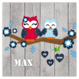 Max met grote zus