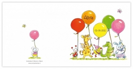 Ballonnen optocht Alicia