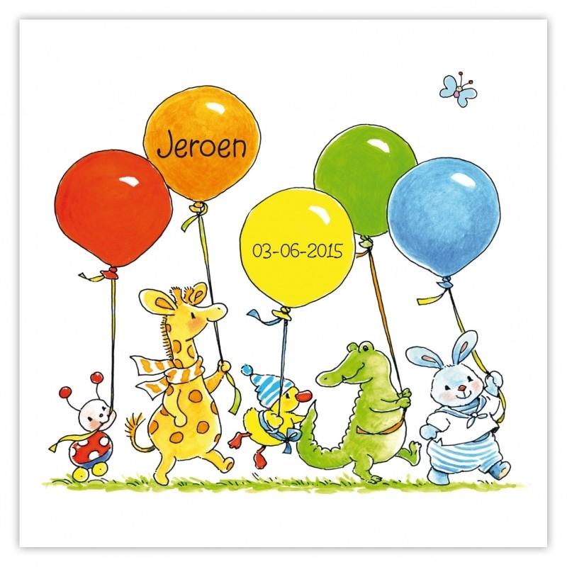 Ballonnen optocht Jeroen