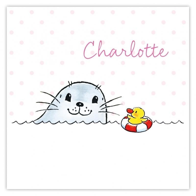 Zeehondje Charlotte