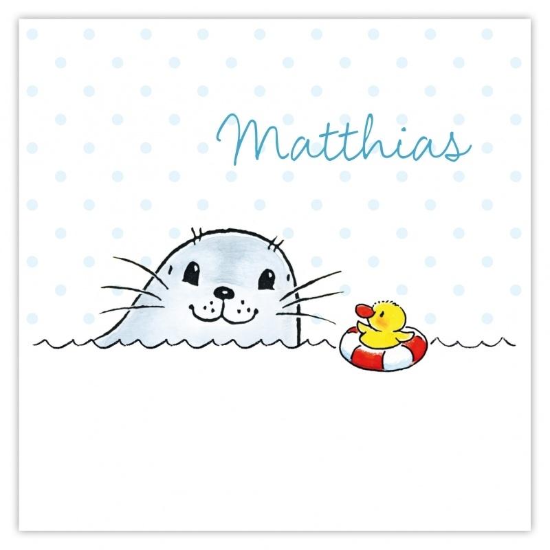 Zeehondje Matthias