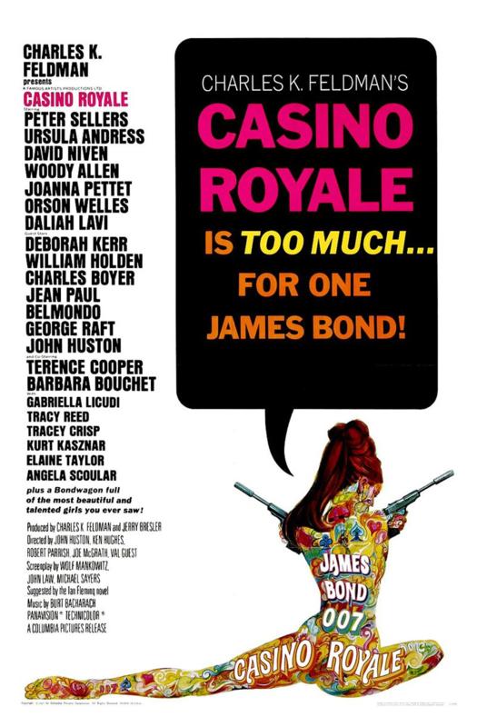 Casino Royale (1967) Charles K. Feldman's Casino Royale