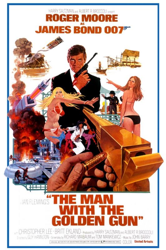 The Man with the Golden Gun (1974) Ian Fleming's