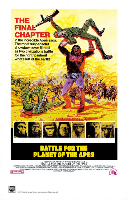 Battle for the Planet of the Apes (1973) Gevecht om de Apenplaneet | Colonization of the Planet of the Apes