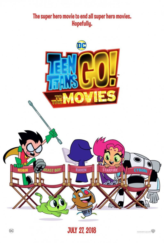 Teen Titans Go! To the Movies (2018) Teen Titans Go! At the Movies