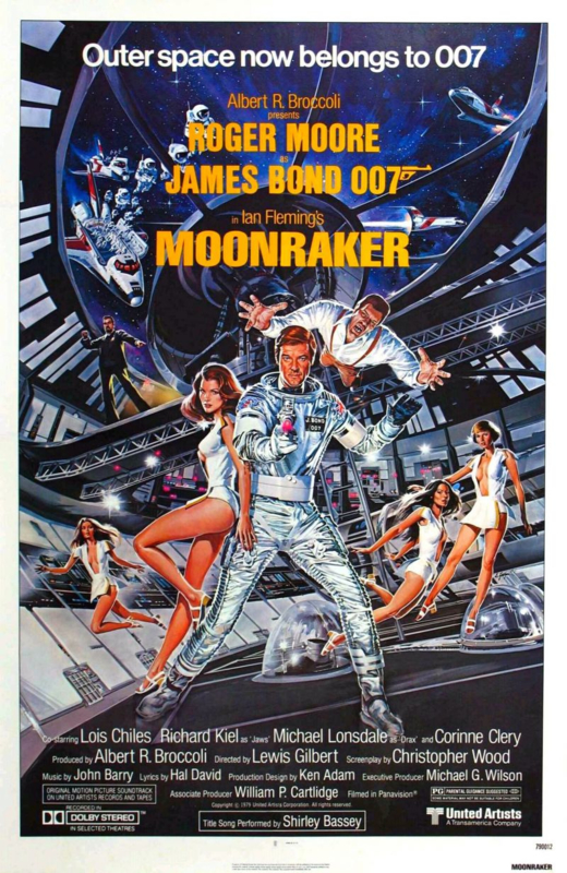 Moonraker (1979) Ian Fleming