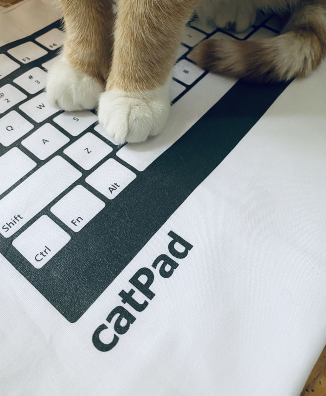 Don't get mad, buy a catPad...