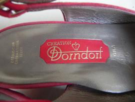Dorndorf peeptoe slingback pumps (2295)