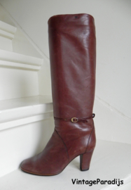 Vintage sexy high heels boots (2372)