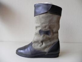 Vintage stoere bont laarzen (nr. 1314)
