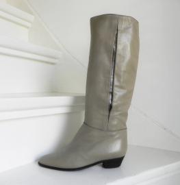 Vintage designers boots plooi (2115)