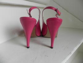 Antonio D'Anna sexy slingback pumps pink (2524)