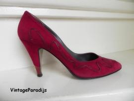 Manfield sexy rode high heels pumps (2247)