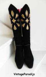 Albanese Roma unieke designer high heels boots (2393)