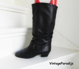 Take Five slouchy studs cowboy boots (2489)