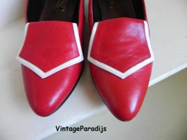 Melody fashion red pumps (2450)