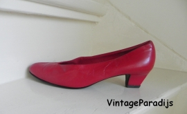 Hogl gave rode vintage pumps (2180)