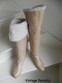 College overknee bont laarzen sleehak  boots