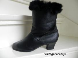 Trendy konijnen bont laarzen (2242)