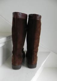 Melongit vintage bontlaarzen boots (2373)