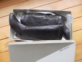 Brunella kalfsleren vintage laarzen (nr. 1076)