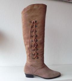 Moda vintage piraten overknee laarzen (nr. 1127)
