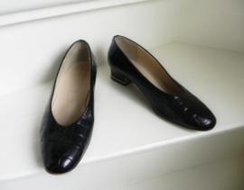 Ara (Jenny) croco lak pumps shoes (2254)