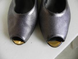 Nijhof (Jacobelli) slingback peeptoe pumps (2401)