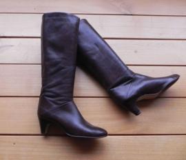 Vintage kalfsleren laarzen (nr. 1399)