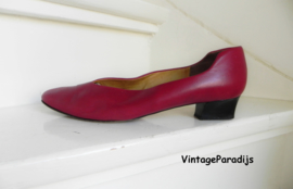 Franca Lorenzi red pumps ballerina's (2488)